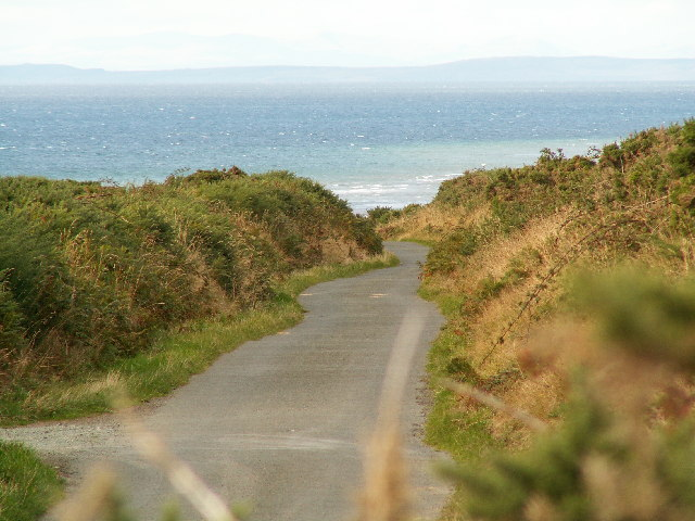 The Bollyn Road, north of highest point