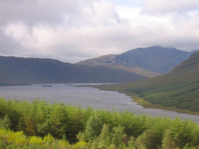 Loch Loyne from the A87