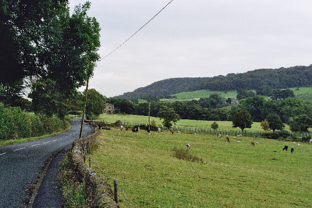 The Road to Sabden from Whalley