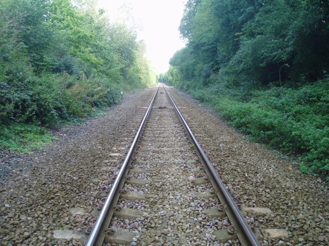 Railway line to Buxted