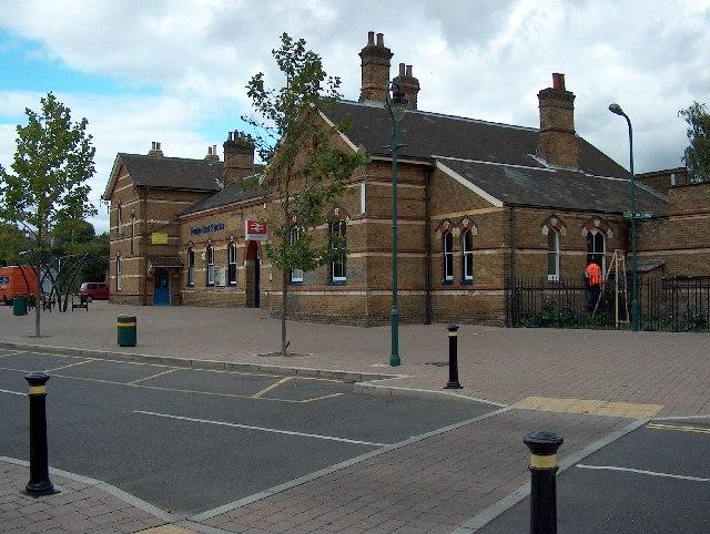 Penge East Station, Station Road.