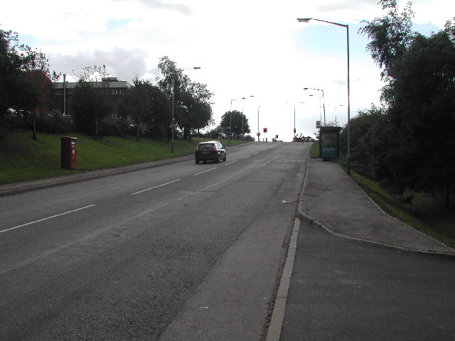 Junction of Common Road and Alfreton Road
