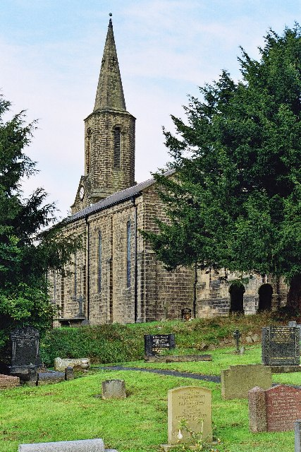 Parish Church of St Nicholas, Heyhouses, Sabden