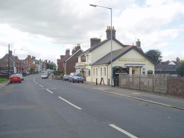 Uckfield, New Town - Framfield Road