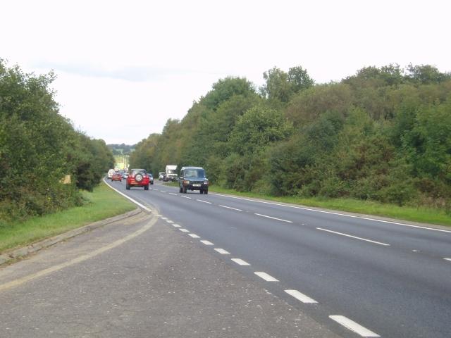 A22 Uckfield bypass road