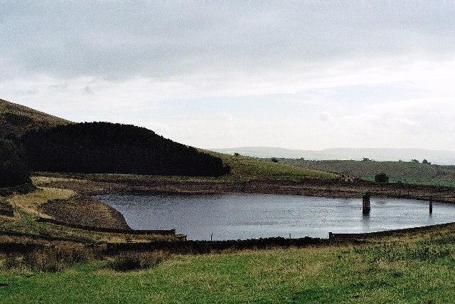 Churn Clough Reservoir nr Sabden