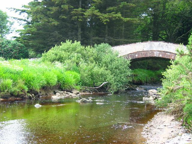 Saddell Water, Kintyre.