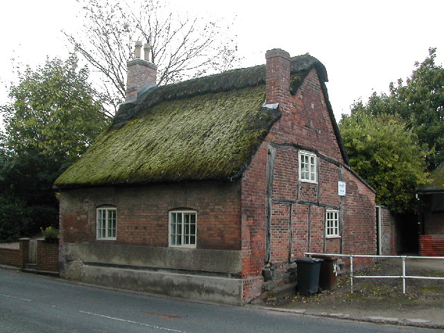 Moss thatched cottage Repton