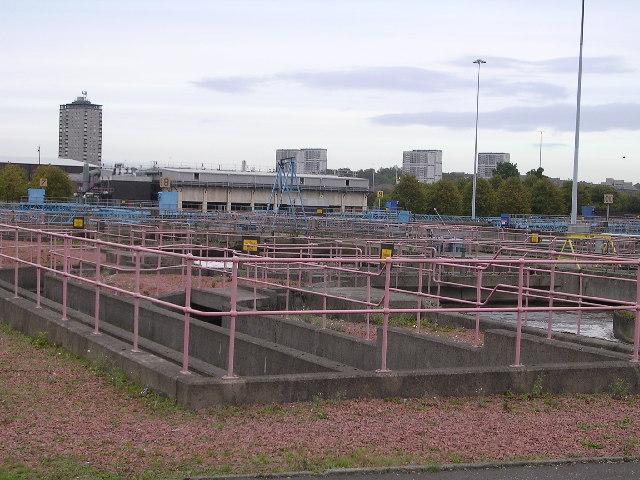 Shieldhall Sewage Works