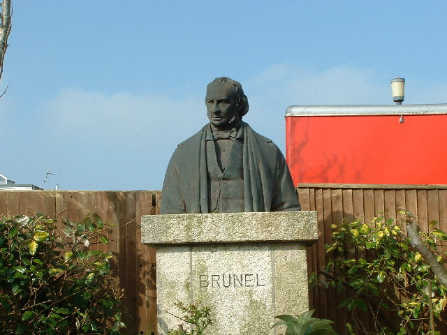 Statue of Isambard Kingdom Brunel, Saltash