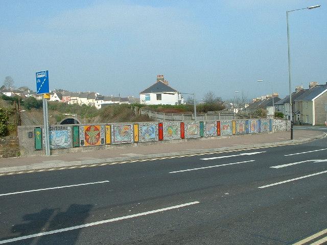 Town Mosaic, Saltash