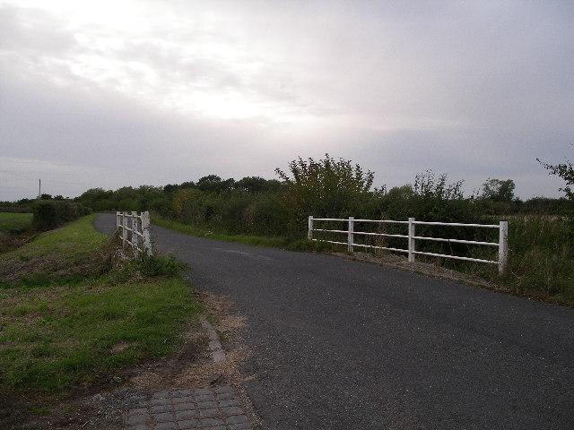 Bridge over Childrey brook near West Hanney.
