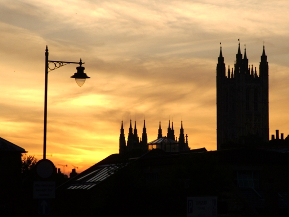 Canterbury Cathedral Sunset