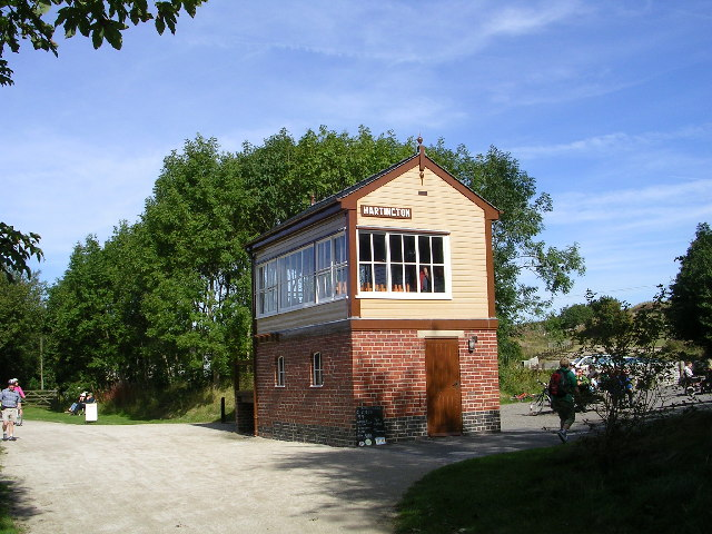 Hartington Signal Box - Tissington Trail