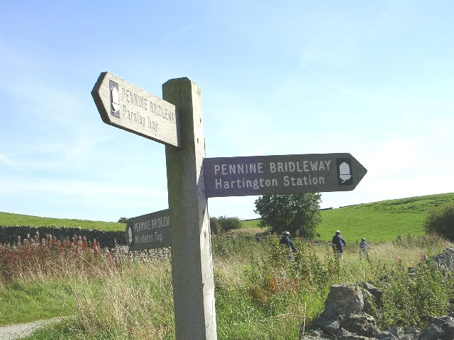 Junction of Tissington and High Peak Trails