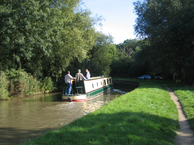 The Oxford Canal near Brinklow