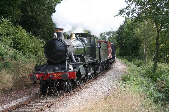 Combe Florey: the West Somerset Railway near Nethercott