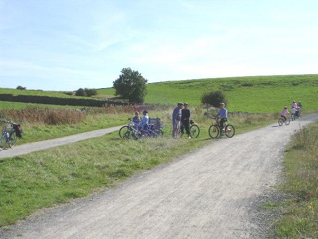 Junction of Tissington & High Peak Trail - Parsley Hay