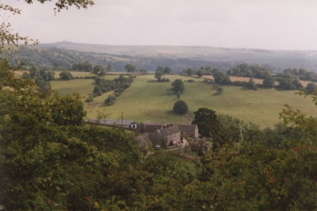 Shaw's Farm from the Tissington Trail