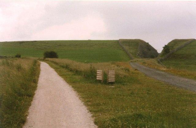 Junction of High Peak and Tissington Trails, Hartington Middle