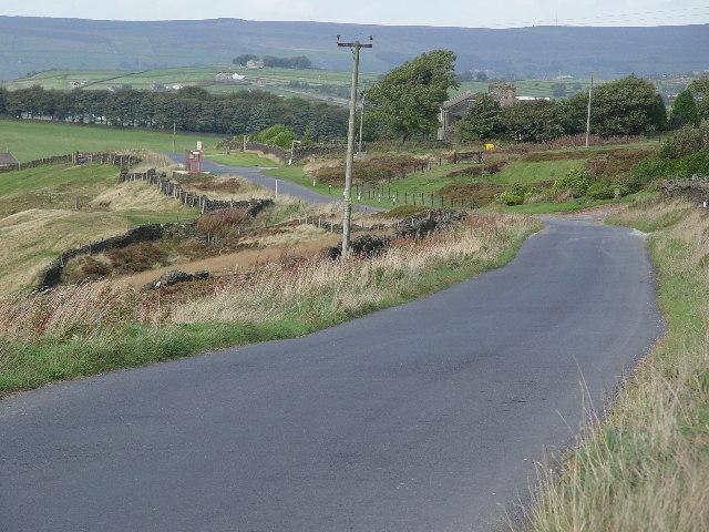Road over Black Moor