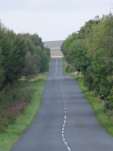 Road above Humberstone Bank