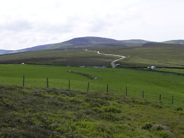 Pasture on southern side of Mount Karrin