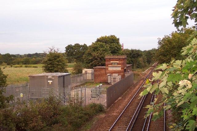 Railway sub-station