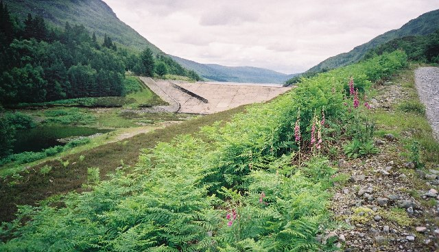 Loch Treig dam