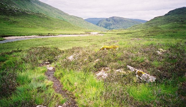 Lairig Leacach, Looking south