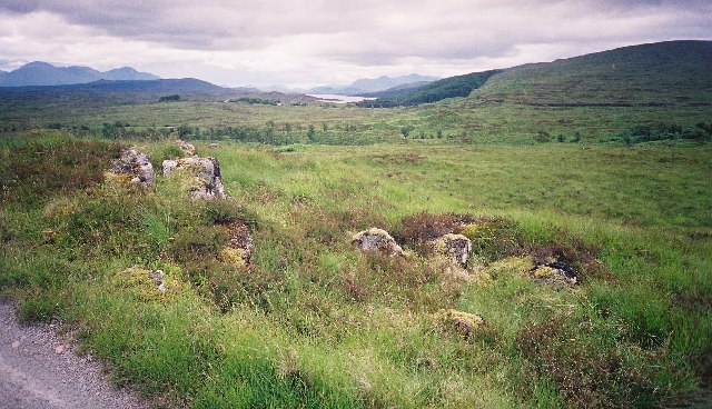 Looking towards Rannoch from the Road to the Isles