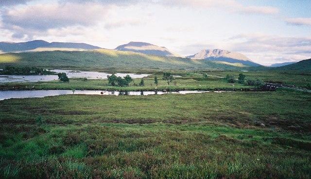 Rannoch Moor looking south