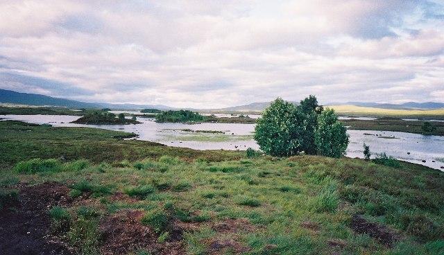 Loch Ba, looking east