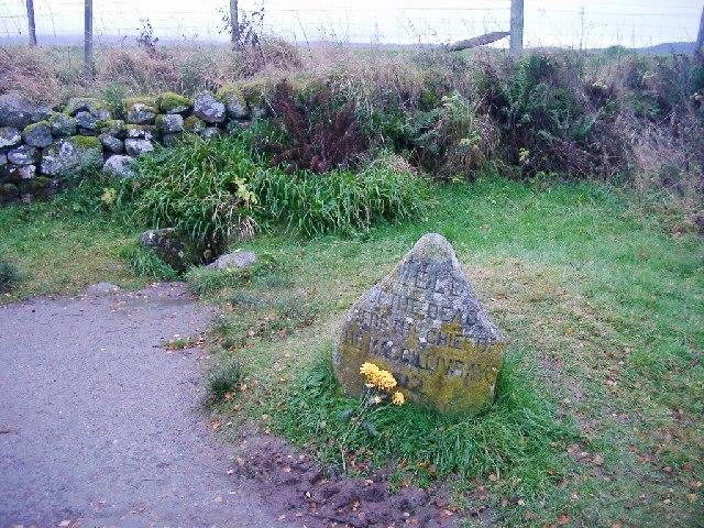 Grave Marker, Culloden Moor