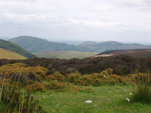 Long Mynd, Shropshire, looking towards Calf Ridge