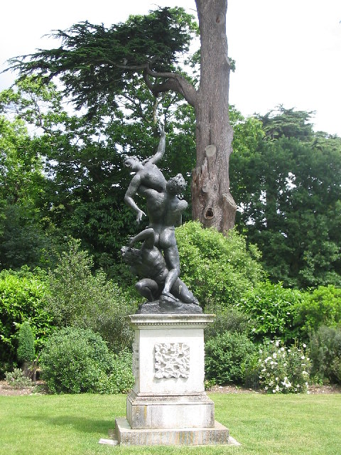 Statue in Painshill Park, Cobham