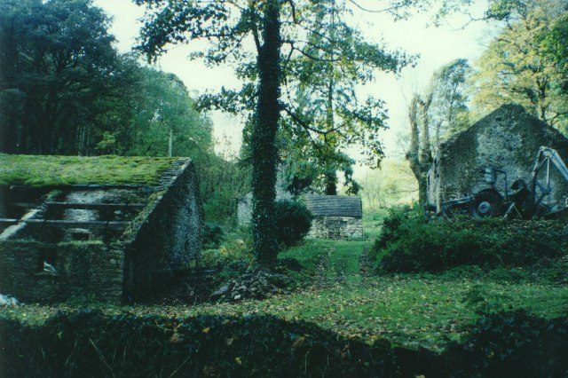 Ruined farm, Pin Dale, Castleton