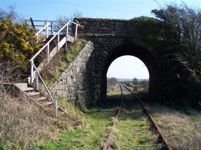 Bridge over disused railway, Anglesey