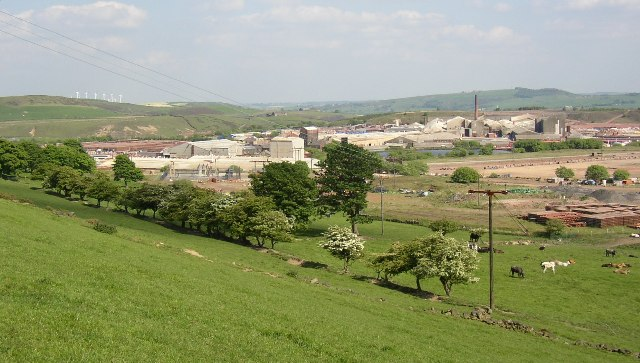 Pipeworks below Hepshaw, Dunford
