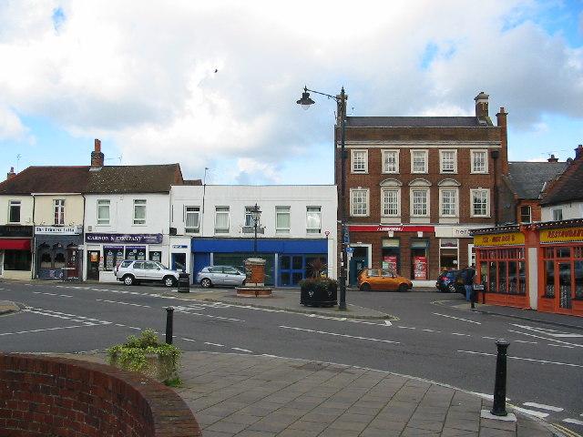 Street scene Bagshot