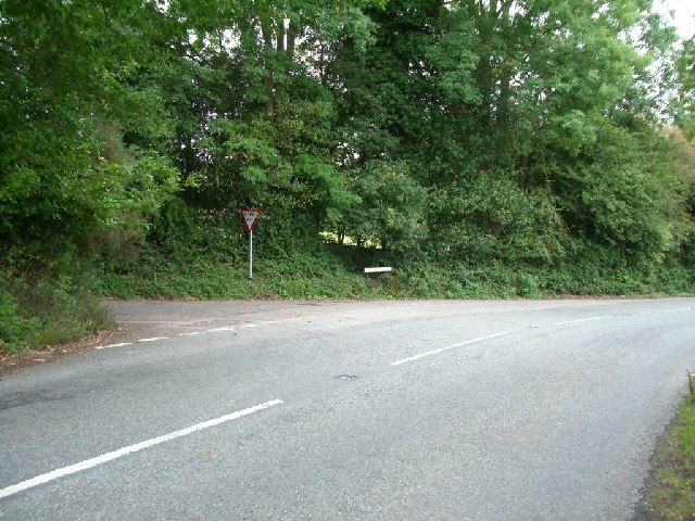 Junction of Holmbury Road and Tanhurst Lane