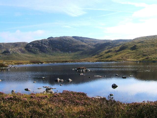Craignaw (645m) from Loch Arron
