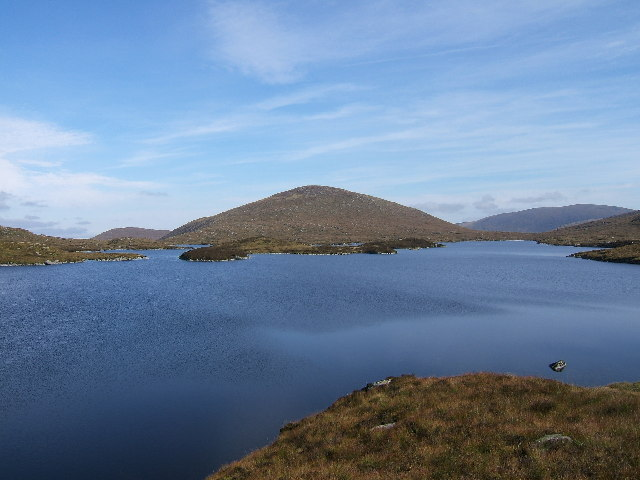 Mulwharchar (692 m) from Loch Enoch
