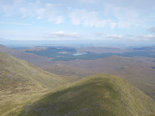 The Little Spear (of Merrick) from the top of the Merrick
