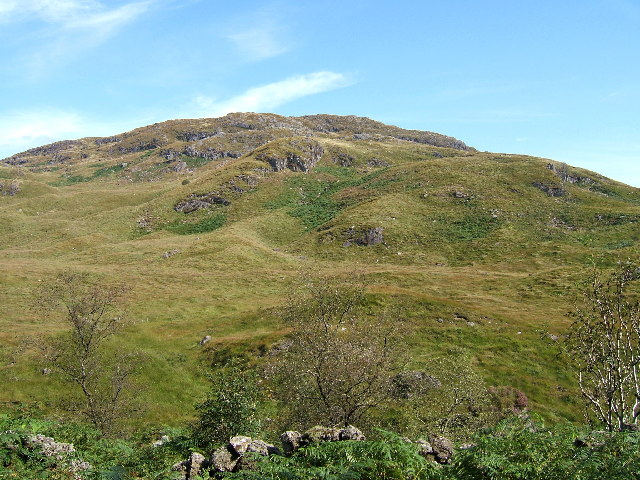 Buchan Hill (493m), Galloway Hills.