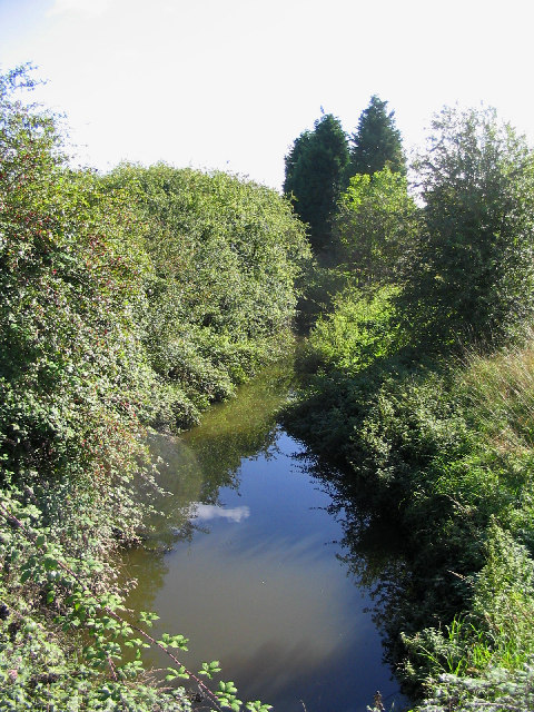 Mar Dyke River at Bury Farm, Upminster