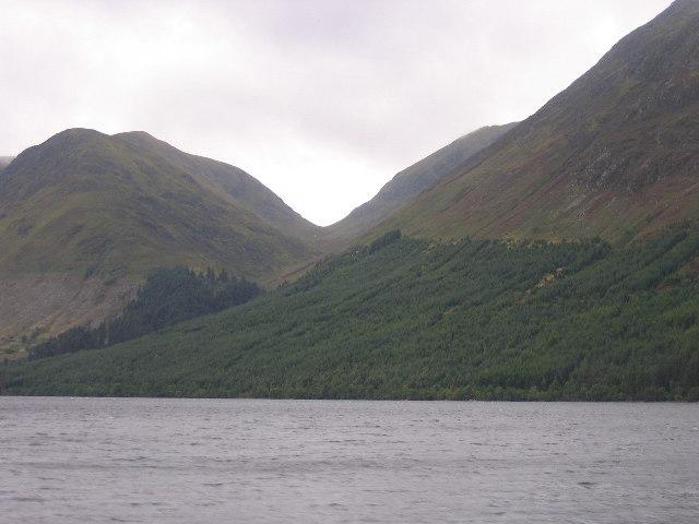 Cam Bealach and Loch Lochy