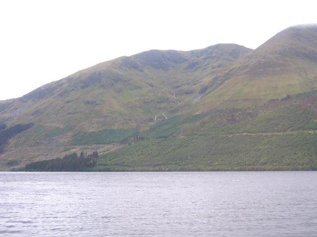 Coire Lochain and Loch Lochy