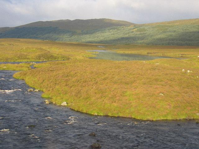 Garbh Ghaoir with Achruach on the horizon