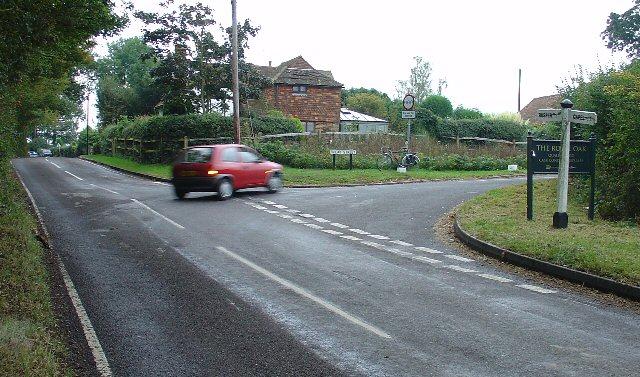 """""""Lipscombes Corner"""", between Rusper and Capel, West Sussex"""